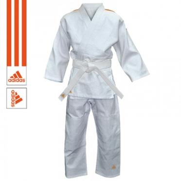 Adidas Judo suit Evolution II J250 white orange
