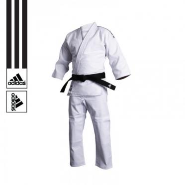 Adidas training judo suit J500 white