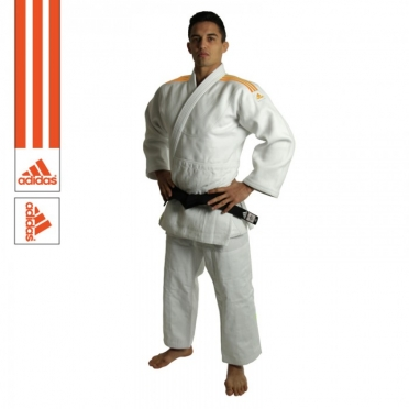 Adidas judo suit J990 Millenium white / orange