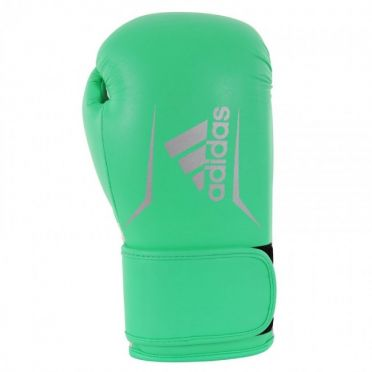 Adidas Speed 100 boxing gloves lime/silver