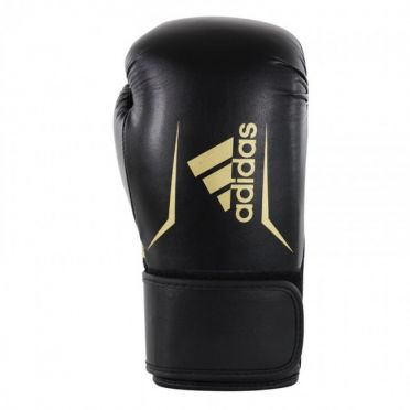 Adidas Speed 100 (kick)boxing gloves black/gold