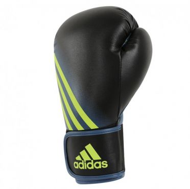 Adidas Speed 100 boxing gloves black/yellow