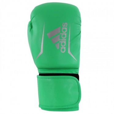 Adidas Speed 50 (kick)boxing gloves lime/silver