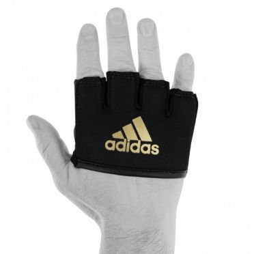 Adidas Knuckle protector with gel padding black/gold men