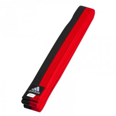 Adidas taekwondo Poombelt black/red