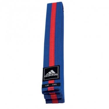 Adidas taekwondo Poomsae belt blue/red