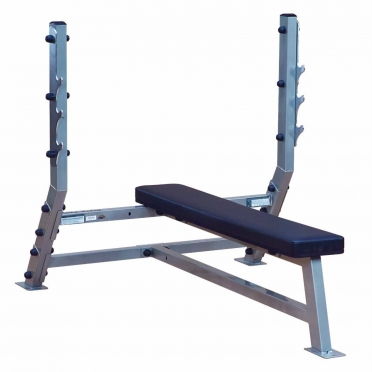 Body-Solid Pro ClubLine Flat olympic weight station