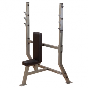 Body-Solid Pro ClubLine Shoulder press olympic weight station