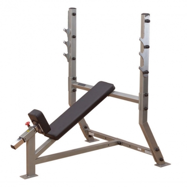 Body-Solid Pro ClubLine Incline olympic weight station