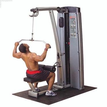 Body Solid Pro Dual Line Lat Pull Down and Midrow Machine (DLATSF)
