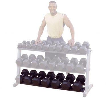 Body-Solid third tier for dumbbell rack