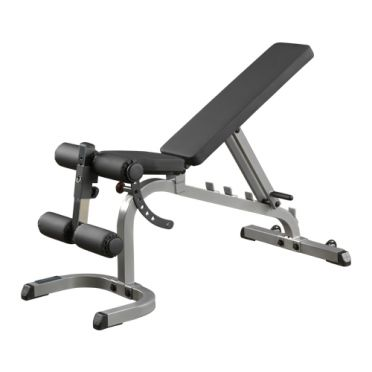 Body-Solid Flat incline decline weight bench