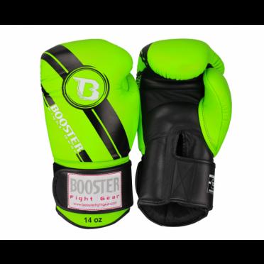 Booster Pro Range BGL V3 leather boxing gloves green