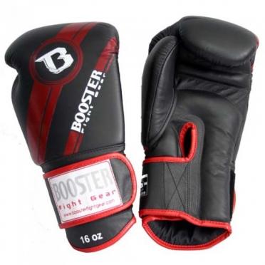 Booster Pro Range BGL V3 leather boxing gloves red/black