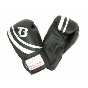 Booster Pro Range V2 leather boxing gloves black