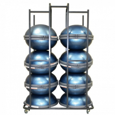 Bosu storage cart for 14-18 Bosu Balance Trainers 358500