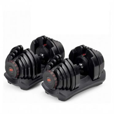 Bowflex 552i S selecttech dumbbell set 23,8 kg pair demo