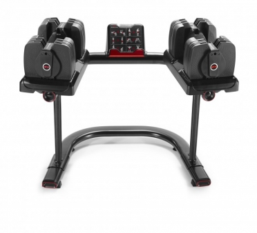 Bowflex Dumbbell set selecttech 560i smart + weight stand