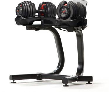 Bowflex 552i S selecttech dumbbellset 23,8 kg + dumbbell stand