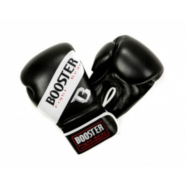 Booster BT Sparring boxing gloves white striped