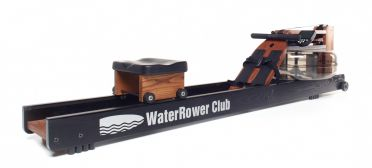 Waterrower Rowing machine club stained solid ash