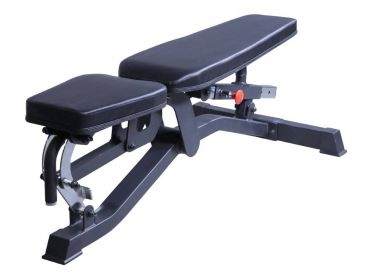 Lifemaxx adjustable bench black