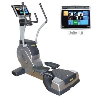 TechnoGym lateral trainer Excite+ Crossover 700 Unity silver used