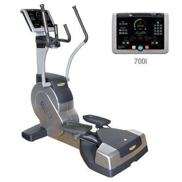 TechnoGym lateral trainer Crossover Excite+ 700i silver used