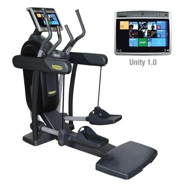 TechnoGym crosstrainer Excite+ Vario 700 Unity black used