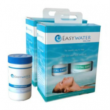 EasyWater Total Care water treatment kit 2 pieces with chlorine tablets
