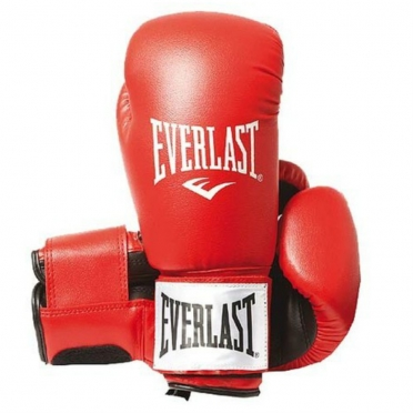 Everlast Rodney Boxing Gloves red