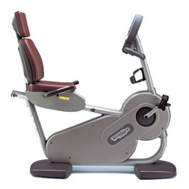 TechnoGym recumbent bike Recline Excite 700i classic silver used