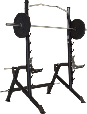 Finnlo Inspire Squatrack with pullupbar