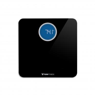 Flow Fitness BS20b Bluetooth Smart Scale Black