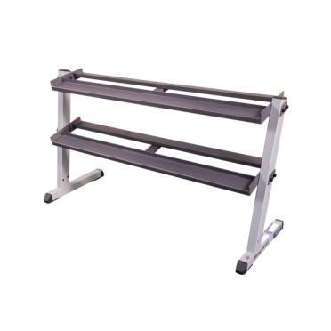 Body-Solid 2 tier pro Dumbbell rack