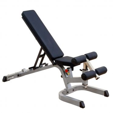Body-Solid Heavy Duty flat incline decline weight bench