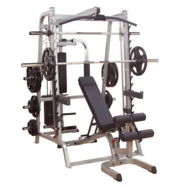 Body Solid Series 7 smith machine full options
