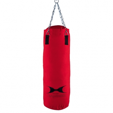 Hammer boxing bag canvas red 80 - 120 cm