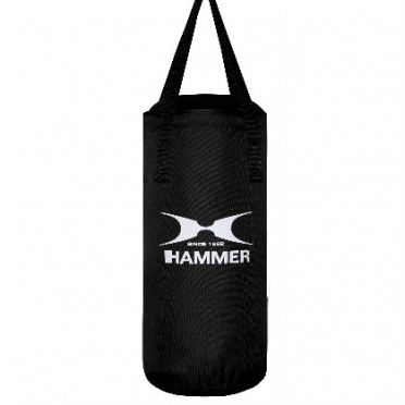 Hammer boxing bag canvas FIT black 50 - 100 cm