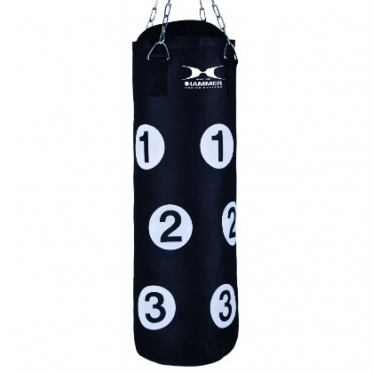 Hammer boxing bag nylon with numbers 80 cm