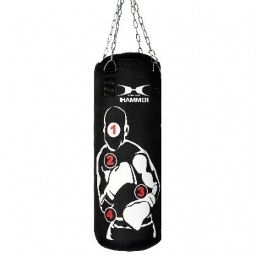 Hammer boxing bag with numbers pro 60 - 100 cm
