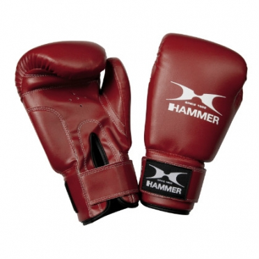 Hammer boxing gloves PU FIT red