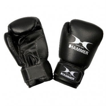 Hammer boxing gloves PU FIT black
