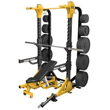 Hammer Strength HD elite half rack