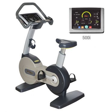 Technogym excercise Bike Excite+ 500i silver used