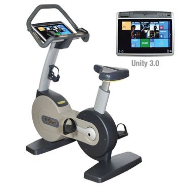 TechnoGym excercise bike Excite+ New Bike 700 Unity 3.0 silver used