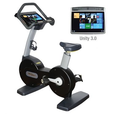 TechnoGym excercise bike Excite+ New Bike 700 Unity 3.0 black used