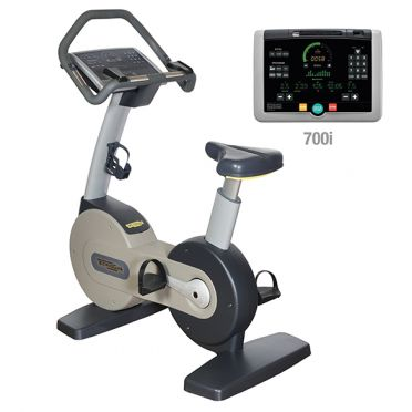 Technogym excercise Bike Excite+ 700i silver used