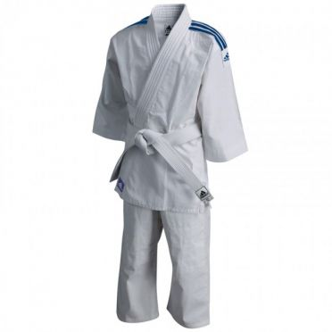 Adidas Judo suit Evolution II J250 white/blue