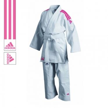 Adidas judo uniform J350 white/pink